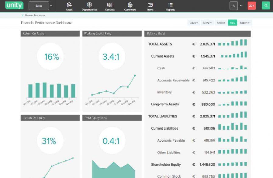 Unity BMS | ERP VAT Finance Invoice